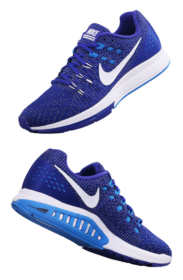 NIKE AIR ZOOM STRUCTURE 19 跑鞋(男)